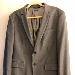 Perry Ellis Slim Fit Gray Suit Jacket